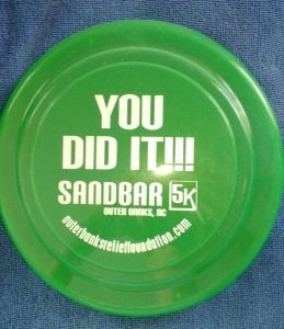 Sandbar 5K Frisbee