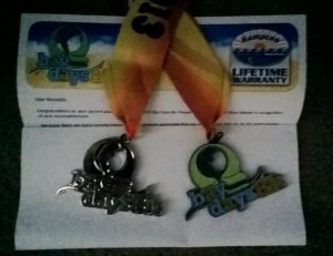Bay Days 8K Silver Medal