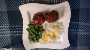 Meatloaf Muffin Dinner