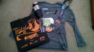 Wicked 10k Swag