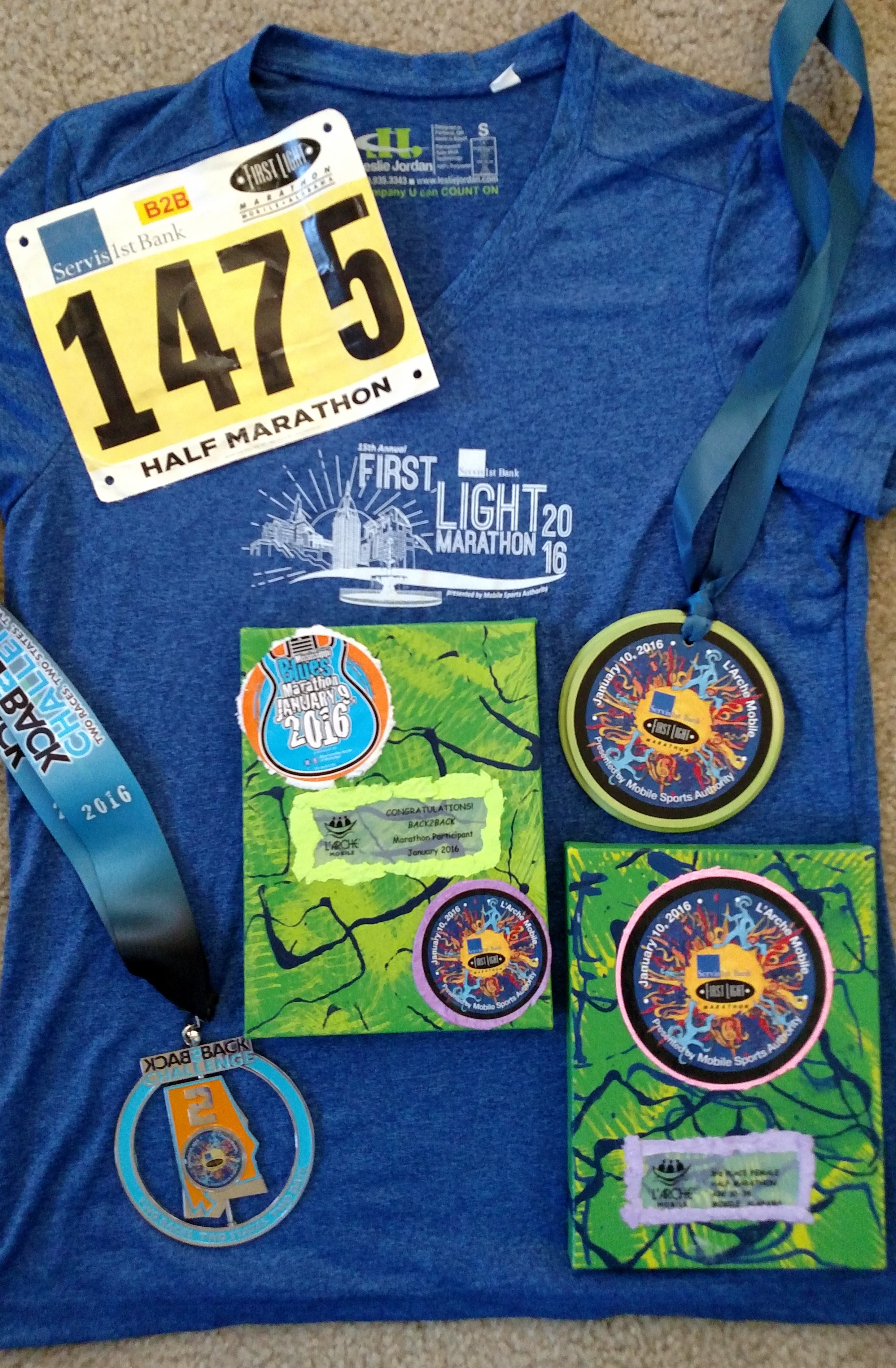 I Continued To First Light Half Marathon