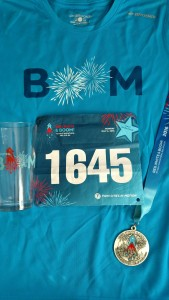 red white and boom half marathon