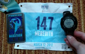 one city marathon